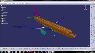 getlinkyoutube.com-CATIA V5 Aircraft Surfaces Design - Part 1 : Fuselage Design