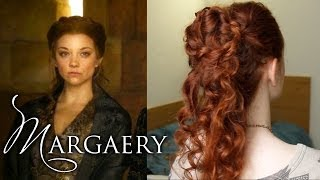 getlinkyoutube.com-Margaery Tyrell Hair How To from Season 4 Game of Thrones