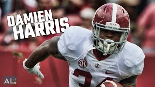 getlinkyoutube.com-Watch highlights of Damien Harris from Alabama's A-Day spring game