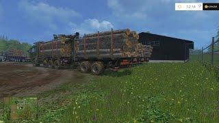 getlinkyoutube.com-Farming Simulator 15 Feeding The Cows