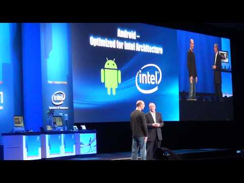 IDF'11 SF: Intel and Google announces Android for Intel Architecture