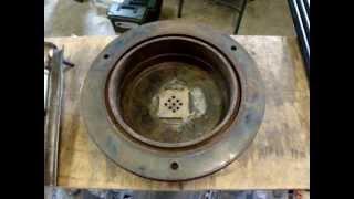 getlinkyoutube.com-Homemade Blacksmith Forge