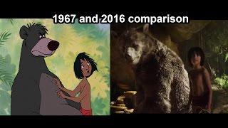 getlinkyoutube.com-The Jungle Book Superbowl Trailer (1967 & 2016 comparison)