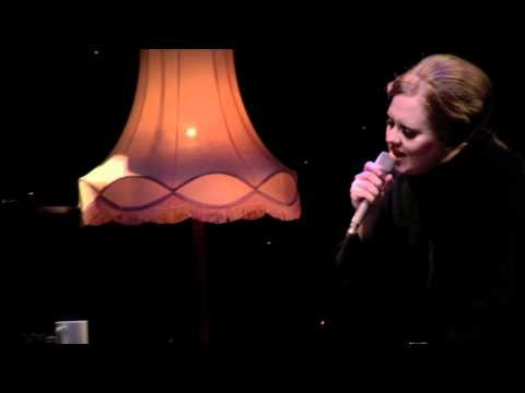 Adele - Set Fire To The Rain (Live from the Tabernacle, London, 24 January 2011)
