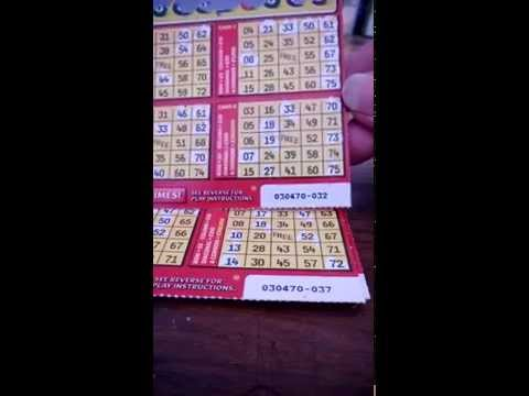 33 x £3 New RED BINGO scratch cards   **WINNING CARDS**