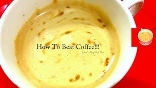 getlinkyoutube.com-How to make  Nescafe Coffee with Milk at Home- Instant Coffee - Indian Style Recipe-Perfect Coffee