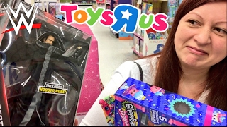 getlinkyoutube.com-EMBARRASSING HUSBAND WWE TOY SHOPPING AT TOYSRUS! BREAKS SEE-SAW AT PLAYGROUND!