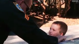 getlinkyoutube.com-Cops step in to save boy's birthday when no one shows up!