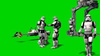 star wars green screen szene