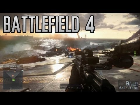 "Battlefield 4 E3 2013 ""Angry Sea"" Gameplay Demo [1080p] TRUE-HD QUALITY E3M13"