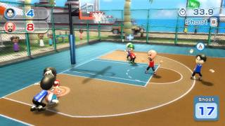 Wii Resort - Basketball Vs.