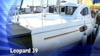 getlinkyoutube.com-Leopard 39 Catamaran