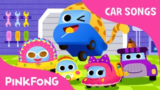 getlinkyoutube.com-Vroom Vroom Family | Car Songs | PINKFONG Songs for Children