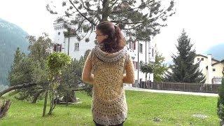 getlinkyoutube.com-How to #crochet a circular jacket