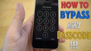 getlinkyoutube.com-How To Bypass Any iPhone Passcode!