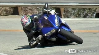 getlinkyoutube.com-Mulholland Riders - Elbow Dragging ,Crash  - 10/2014