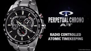 getlinkyoutube.com-CITIZEN Eco-Drive Perpetual Chrono A-T Watch (AT4008-51E)