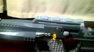 getlinkyoutube.com-LEGO Custom Gun A-64 Assault Rifle