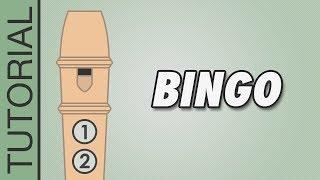 Bingo - Recorder Notes Tutorial
