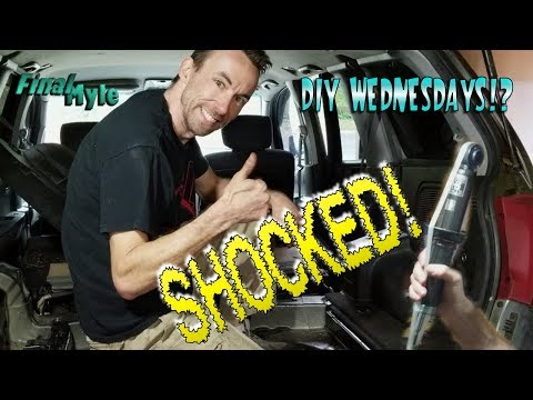 DIY Wednesday - unofficially. Replacing rear shocks on a 2004 Mitsubishi Endeavor!
