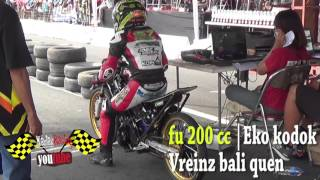 getlinkyoutube.com-full video KEJURNAS Drag bike 2016 !! satria fu 200 cc duel TEAM besar indonesia |Tembus 7.2 detik !