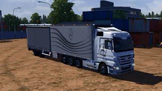 getlinkyoutube.com-Euro Truck Simulator 2 - Mercedes-Benz Tandem - v. 1.12.1