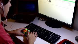 Rubik's cube solved in 3.81 seconds!