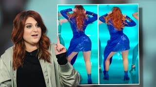 getlinkyoutube.com-WTF! Meghan Trainor Takes Down 'Me Too' Video After Photoshop Scandal!