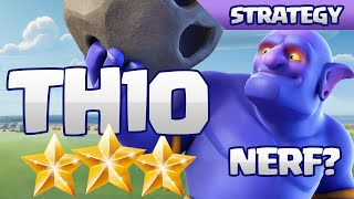 getlinkyoutube.com-SUPER EASY TH10 3-STARS WITH BOWLERS - NERF NEEDED?