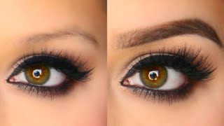 getlinkyoutube.com-Easy Eyebrow Tutorial