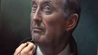 Portrait in Oils using a grisaille, glazing, and scumbling