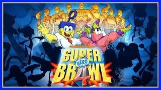getlinkyoutube.com-Super Hero Brawl 4 Demo Game - Sponge Out of Water - Spongebob VS. Spongebob!