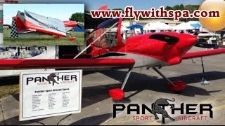 getlinkyoutube.com-Panther aerobatic experimental light sport aircraft with Cougar on its way!