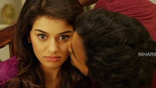 getlinkyoutube.com-Manchu Vishnu Kissing Hansika || Romantic Scene || Pandavulu Pandavulu Tummeda Movie Scenes