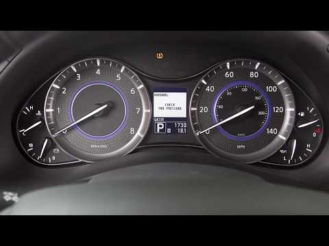 2018 INFINITI QX80 - Tire Pressure Monitoring System (TPMS) with Tire Inflation Indicator