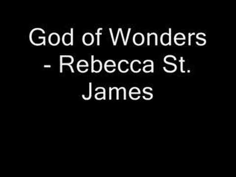 god of wonders rebecca st james