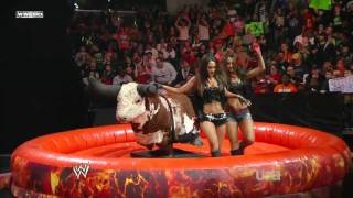 getlinkyoutube.com-Diva Bull Riding Contest HD (WWE Raw 22nd of Feb, 2010)