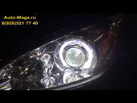 Установка би-ксеноновых линз Toyota Camry V30
