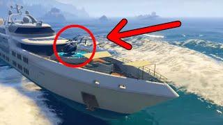 getlinkyoutube.com-GTA 5 Online - Drive The Super Yacht, Secret Cars & More! (GTA 5 DLC Hidden & Secret Features)