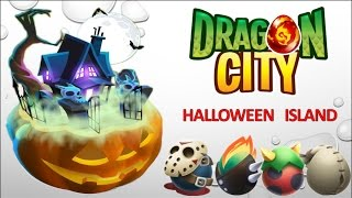 getlinkyoutube.com-Dragon City - Halloween Island [Full Unlock 2015]