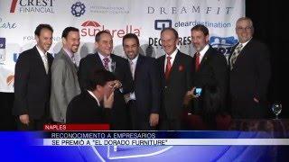 Reconocimiento a empresarios se premió a El Dorado Furniture