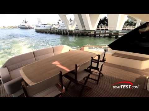 Monte Carlo Yachts 70 Features and Accommodations 2013- By BoatTest.com