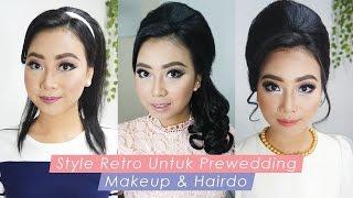 getlinkyoutube.com-Tutorial Makeup Prewedding Tema Retro 60 an | inivindy