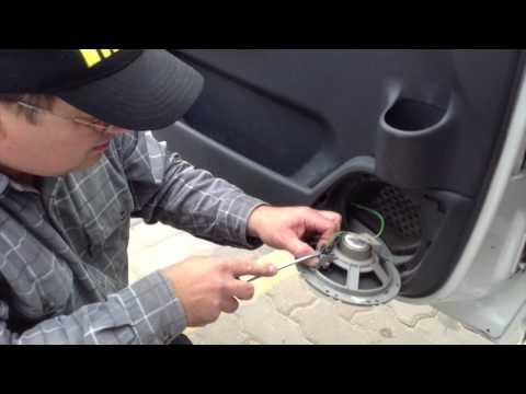 Как снять дверную ручку ... Jumpy | Removing door handle