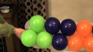 getlinkyoutube.com-Balloon Walls - Duplet Square Pack Technique