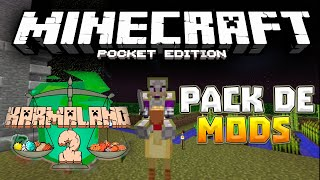 getlinkyoutube.com-PACK DE MODS DE KARMALAND 2 PARA MINECRAFT PE 0.17.0 - MODS PARA MINECRAFT PE 0.16.0