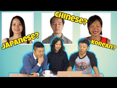 How To Tell Chinese, Koreans and Japanese Apart