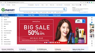 getlinkyoutube.com-Gmarket 2017 - ช้อปปิ้งสินค้าเกาหลีออนไลน์สิคะ