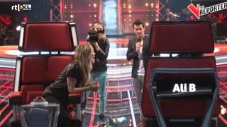 Ilse VS Ali B finale | The V Reporter