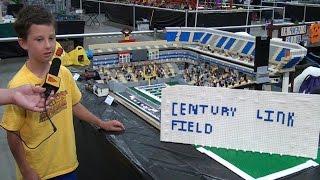 getlinkyoutube.com-LEGO CenturyLink Field Seattle Seahawks stadium – Brickworld Chicago 2015